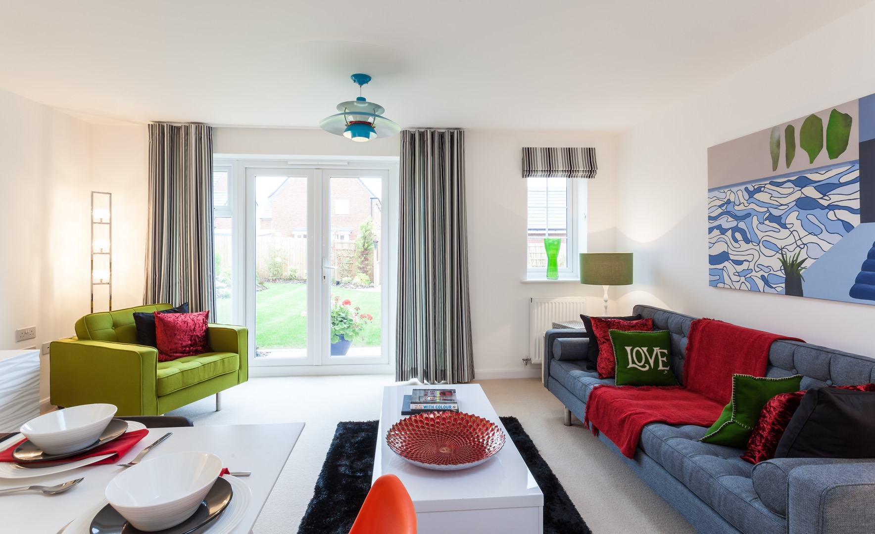 Claude Hooper Interiors Show Homes - Show houses interior design