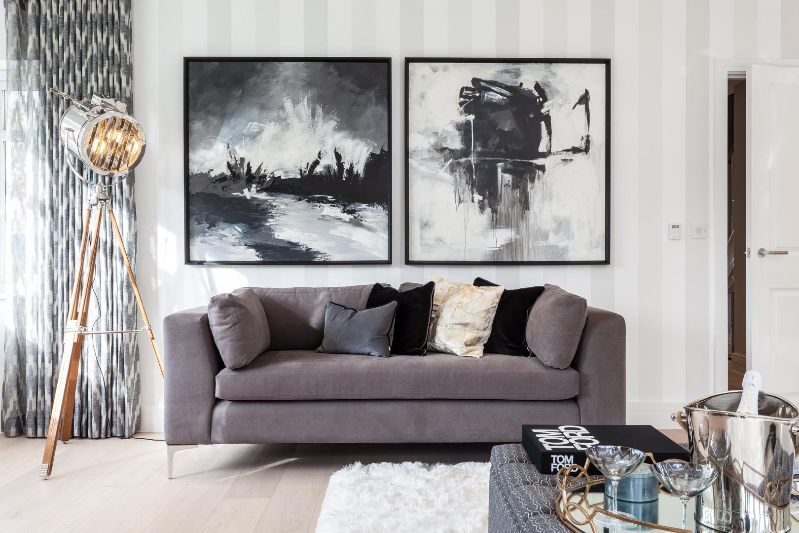 Claude hooper interiors show homes for Creative interior designs beckenham